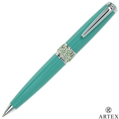 ARTEX 葛莉絲水鑽短版原子筆 綠