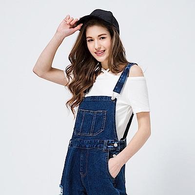 CACO-變化交叉平口上衣(三色)-女【PSH060】