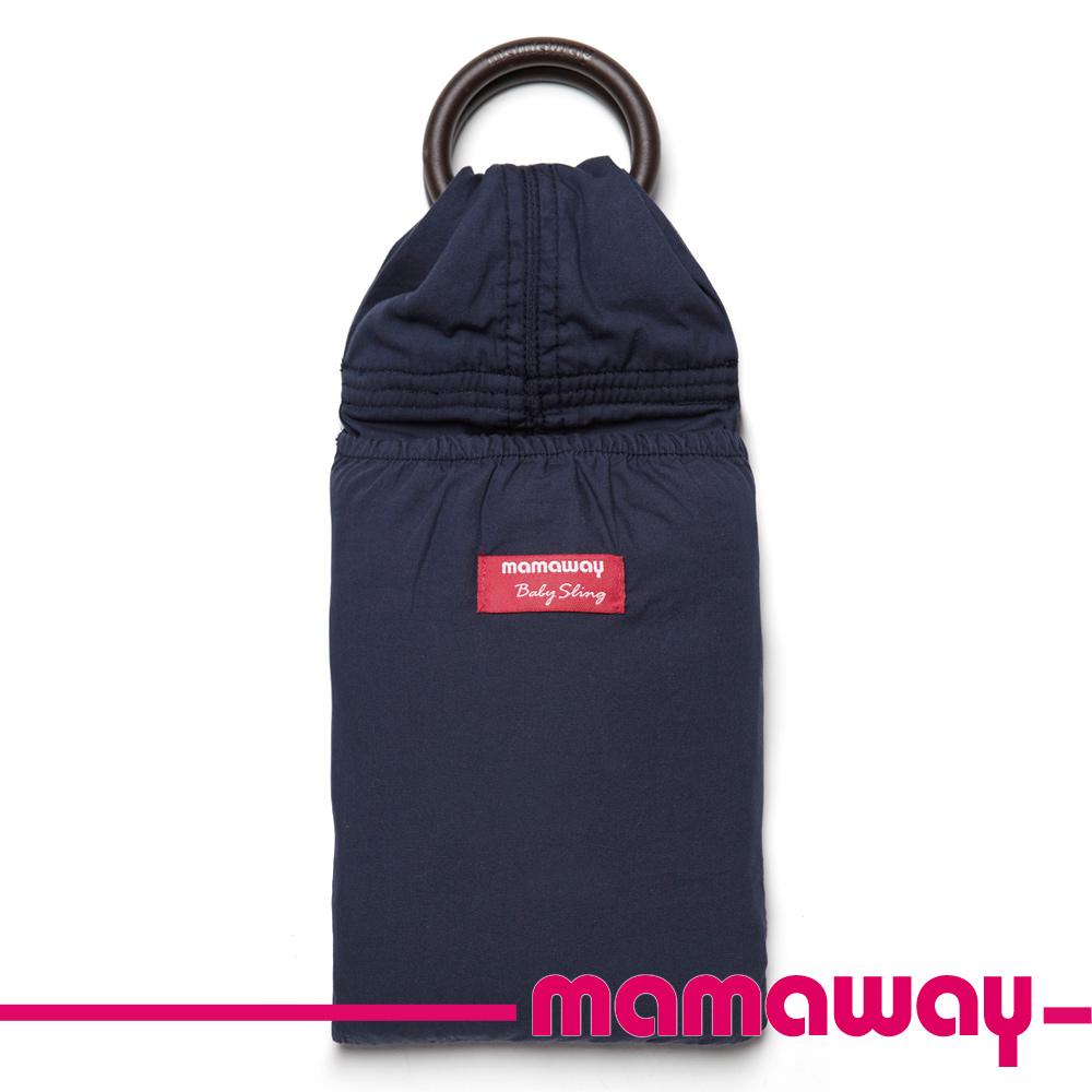 【Mamaway】經典純色背巾(丈青)
