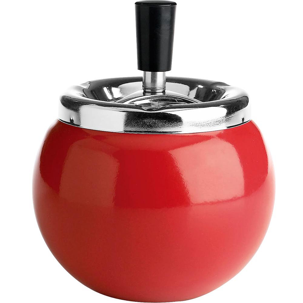 《GALZONE》Ashtray 珠潤球體煙灰缸(紅)