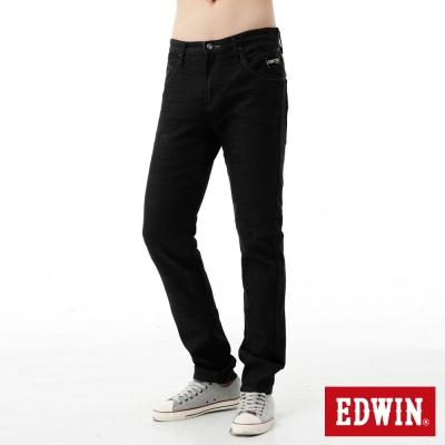 EDWIN-窄直筒-503-E-FUNCTION牛仔褲-男-黑色