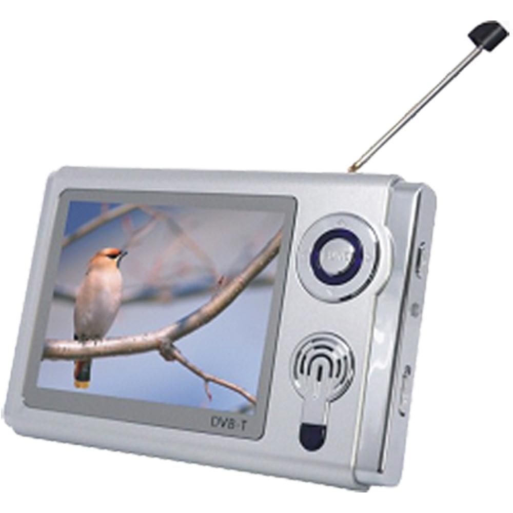 ★志佳3.5吋STP-350可錄影插卡式MP3行動數位電視