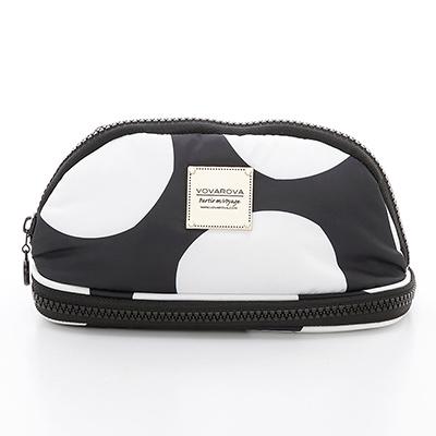 VOVAROVA空氣包-刷具化妝包-波卡圓點(黑)