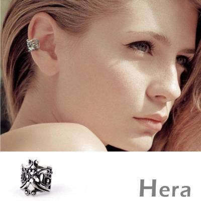 Hera 赫拉 復古雲彩無耳洞耳環/耳骨夾-二色