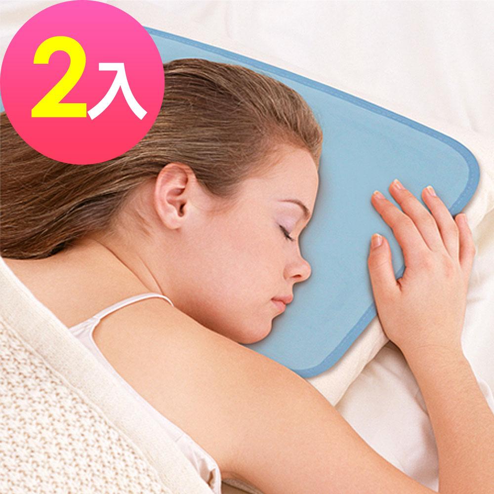 Wally Fun 涼夏枕用冷凝墊 -超值2入組