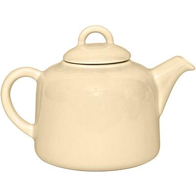 EXCELSA 陶製茶壺(奶油黃0.55L)