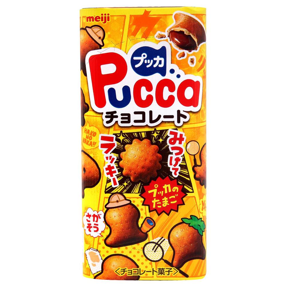 明治製果 PUCCA巧克力餅乾(52gx2入)