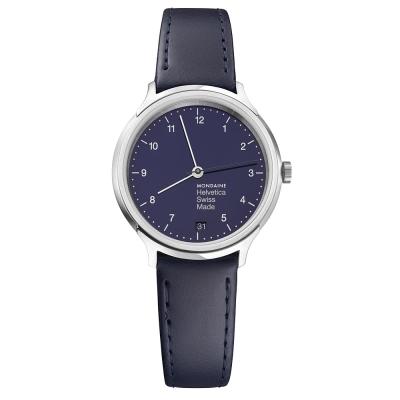 MONDAINE 瑞士國鐵設計系列限量腕錶 - 海軍藍 / 33mm