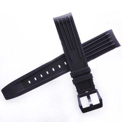 TED SU 太和錶帶 永不屈服ROLEX勞力士代用帶黑色潛水錶帶-20*18mm
