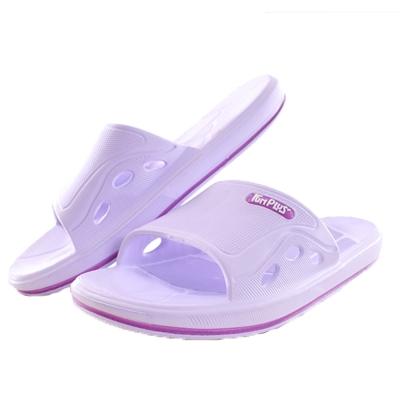 軟Q止滑拖鞋 紫 sd0135 魔法Baby