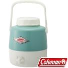 Coleman 27865_綠松石 手提復古4.9L經典飲料桶 公司貨保冷水壺/行動小冰箱