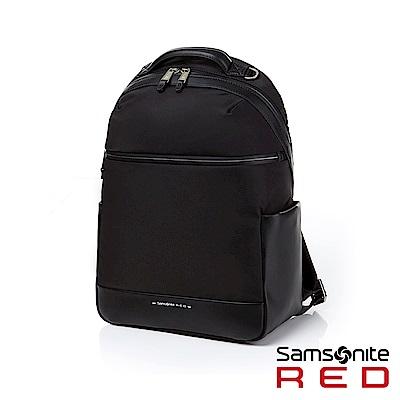 Samsonite RED VENEET 女用商務功能筆電後背包13吋(黑)