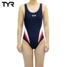 美國TYR女用修身款泳裝Delora Aeroback Navy 台灣總代理