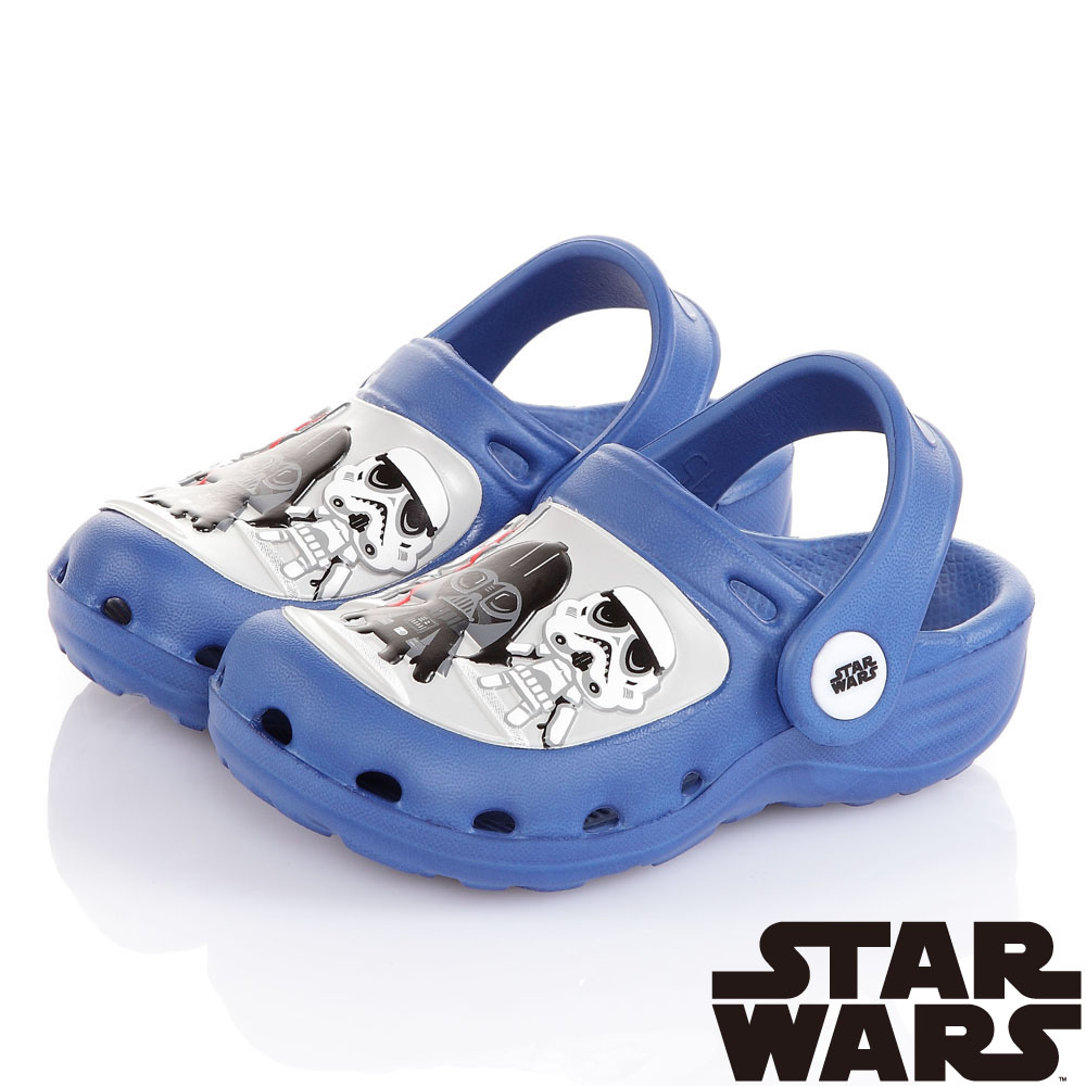 StarWars星際大戰 輕量拖涼鞋童鞋-藍(14.5-22cm)