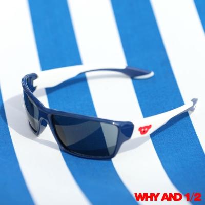 WHY AND 1/2 兒童配件 帥氣男孩太陽眼鏡 藍色