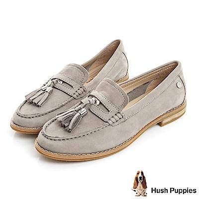 Hush Puppies CHARDON 便士樂福鞋-淺灰