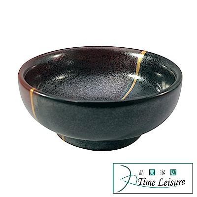 日本原裝進口 品閒 粗陶功夫茶盞品茗主人杯(D款)