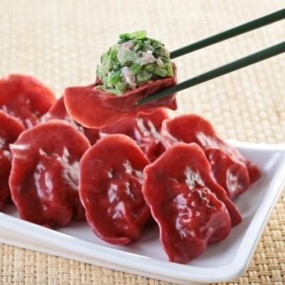 台北士東市場123水餃 紅麴水餃(10顆/盒)