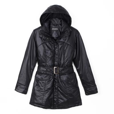 歐都納 PRIMALOFT 女款防風/透氣/超輕保暖外套 A-G1274W 黑
