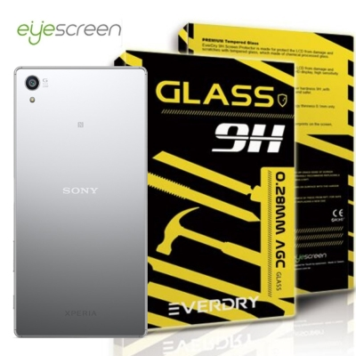 EyeScreen Sony Z5 Premium Everdry AGC 背面...