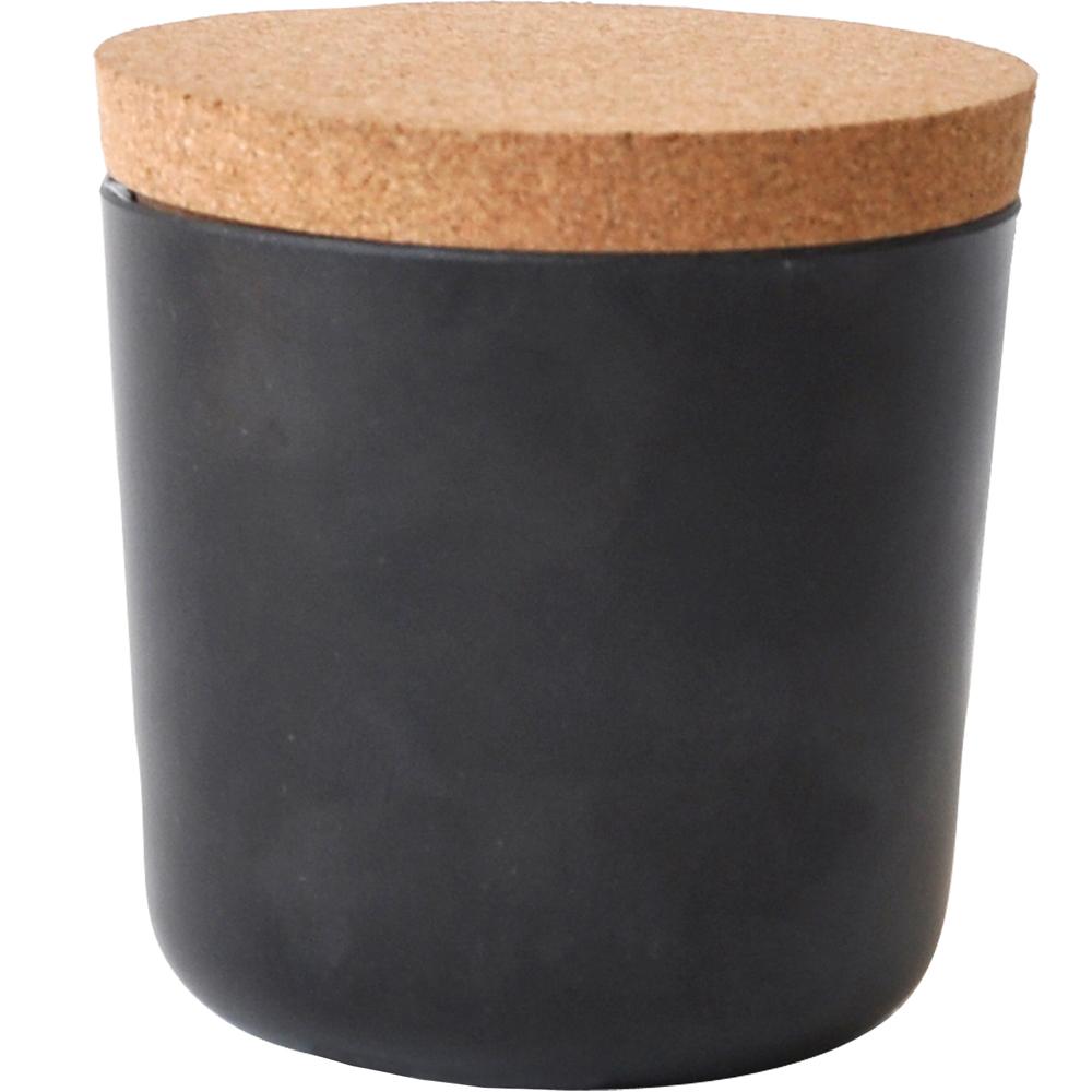 BIOBU Gusto軟木蓋儲物罐(黑S)