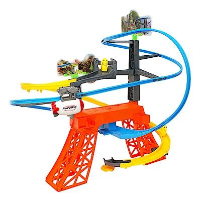 軌道飛船帶小鴨 雲霄飛船 兒童玩具 電動軌道玩具 661K-1 Amuzinc酷比樂