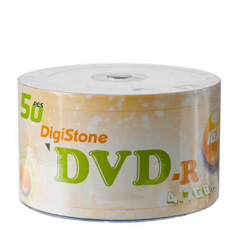 DigiStone A級 16X DVD-R 經典白(50片)