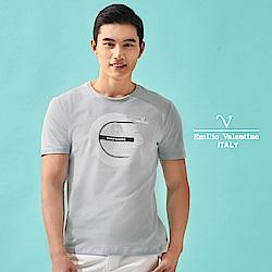 Emilio Valentino 高機能休閒舒適T恤衫_灰(15-8V1916)