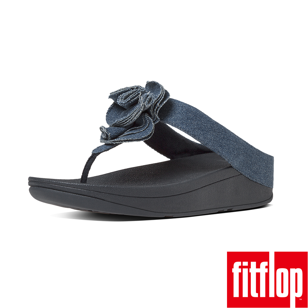 FitFlop FLORRIE TOE-THONG-丹寧