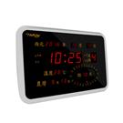 KINYO LED多功能數位萬年曆電子鐘/鬧鐘(NTD200)