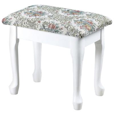 Homelike 典雅歐風掀蓋化妝椅(二色任選)