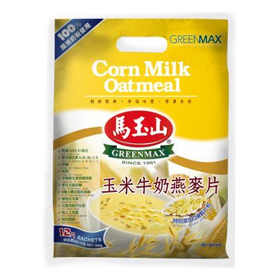馬玉山玉米牛奶燕麥片12入