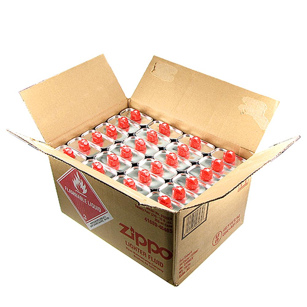 【ZIPPO】原廠專用打火機補充油(大罐)~1箱24罐裝