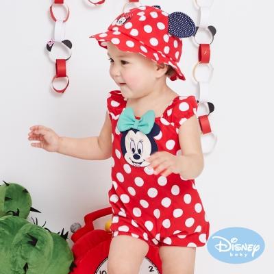 Disney Baby 俏皮米妮點點遊戲褲 紅色