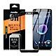 NISDA  HTC Desire 12 5.5吋 滿版鋼化0.33mm玻璃保護貼-黑 product thumbnail 1