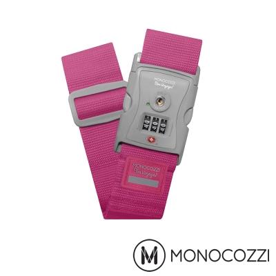 MONOCOZZI TSA LUGGAGE BELT 密碼行李箱綁帶-櫻桃粉