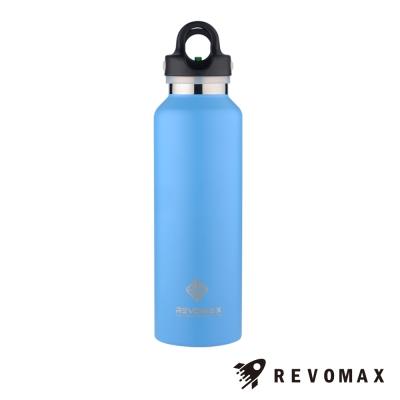 美國銳弗Revomax 316不鏽鋼保溫保冰秒開瓶592ML(天空藍)