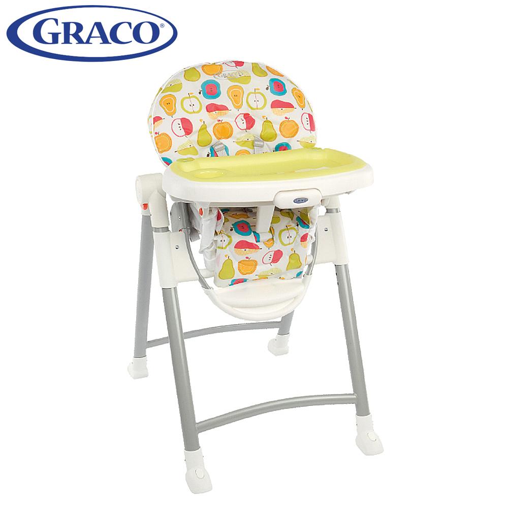 Graco 可調式高低餐椅(Contempo 水果王國)