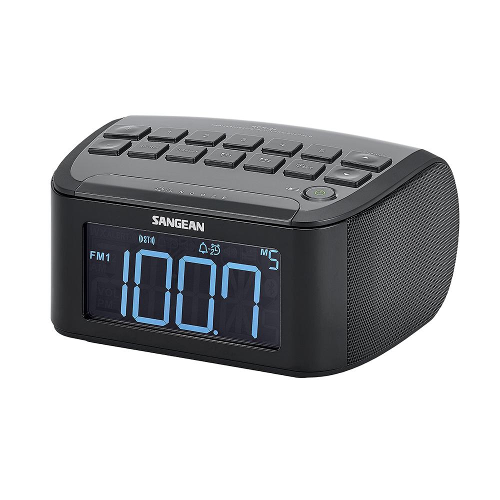 SANGEAN 二波段數位式時鐘收音機 RCR24