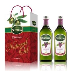 奧利塔葡萄籽油禮盒組(1000mlx2瓶)