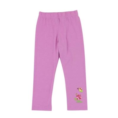 愛的世界 SUPERMINI 彈性鬆緊帶保暖褲-粉紅/1~2歲