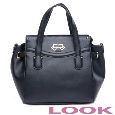 LOOK - Olivia奧莉薇亞系列 2way包- 經典黑