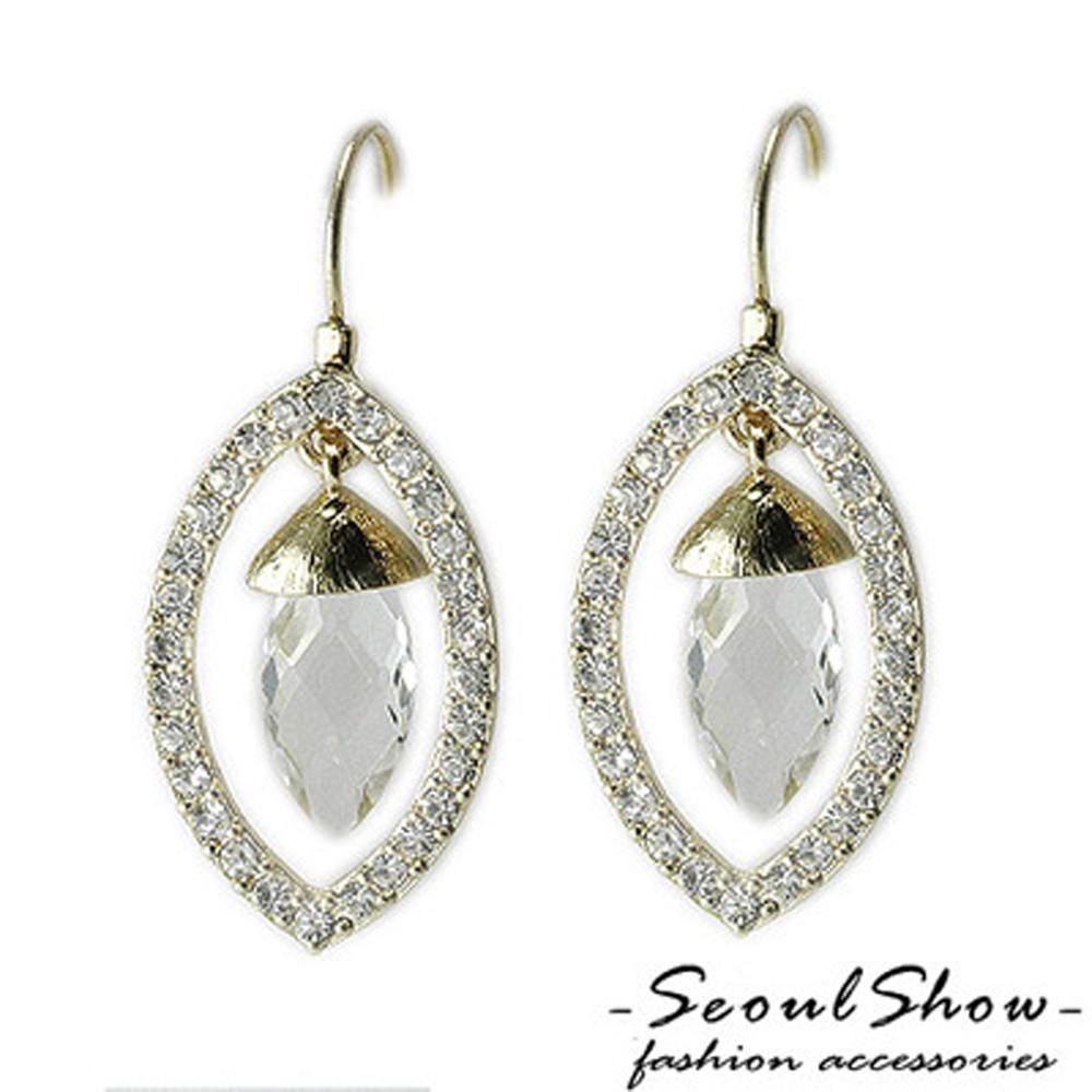 【Seoul Show】盛夏的果實 奧地利水晶針式耳環