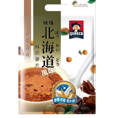 桂格 北海道榛果可可麥片(28gx12包)