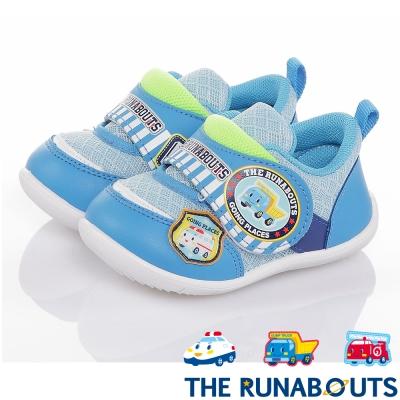 三麗鷗THE RUNABOUTS 透氣抗菌輕量減壓寶寶學步童鞋-水