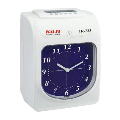 KOJI-TR-733-六欄位指針式微電腦打卡鐘
