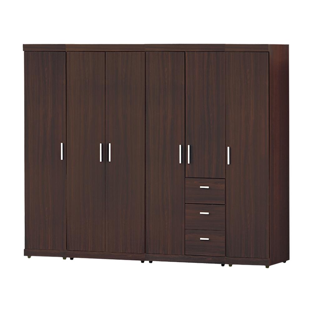 Bernice-艾格7.8尺衣櫃組合-234x56x191cm