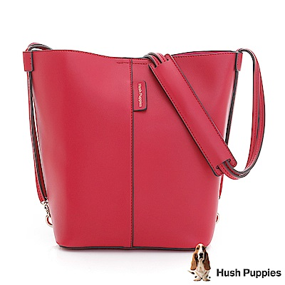 Hush Puppies ETTA 水桶包-桃紅色