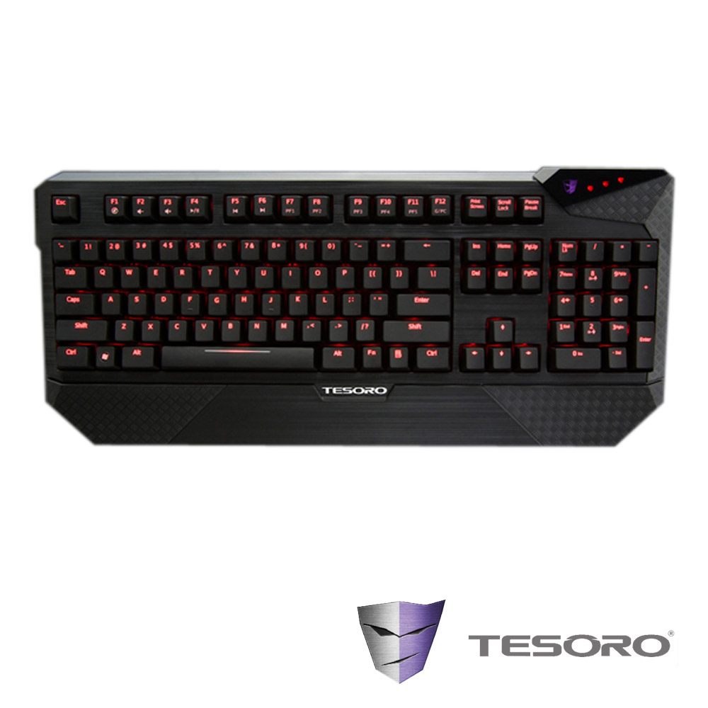 TESORO鐵修羅 杜蘭朵終極版 機械式鍵盤(黑軸-英文版)