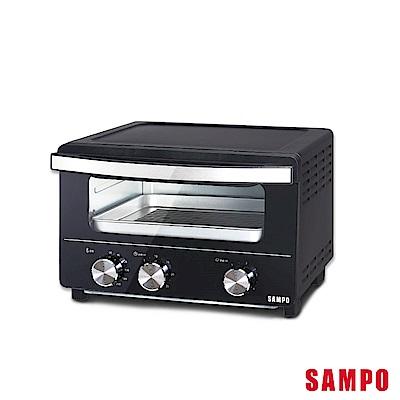 SAMPO 聲寶完美控溫15L蒸氣加濕電烤箱 KZ-SA15W